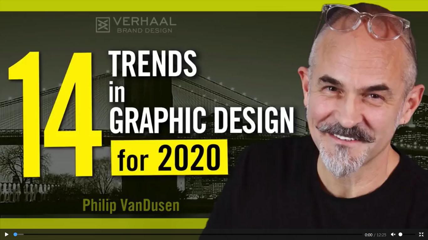 چهارده ترند طراحی گرافیک در سال 2020