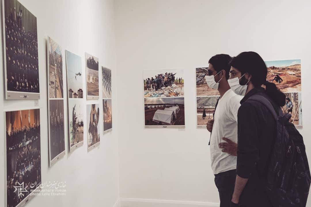 بازگشایی هفدهمین نمایشگاه تصویرسال در خانه هنرمندان ایران