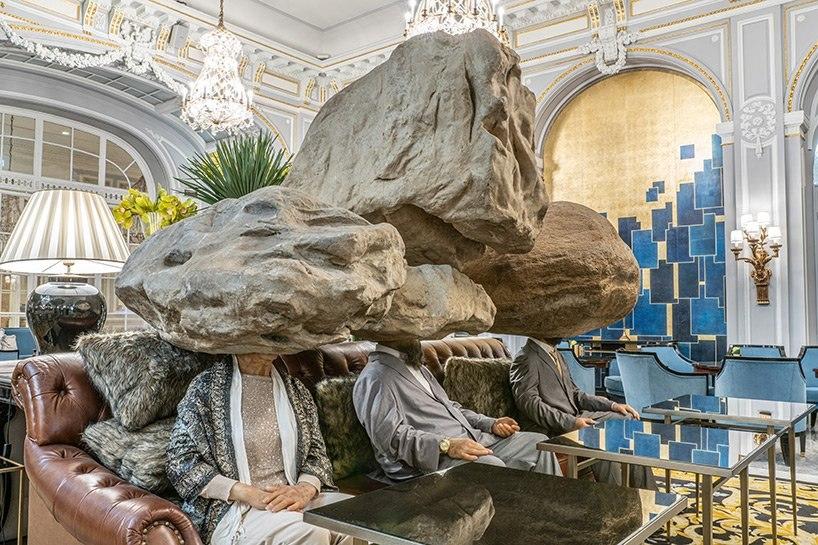 ترکیب انواعی از حیات در یک نمایشگاه مجسمه