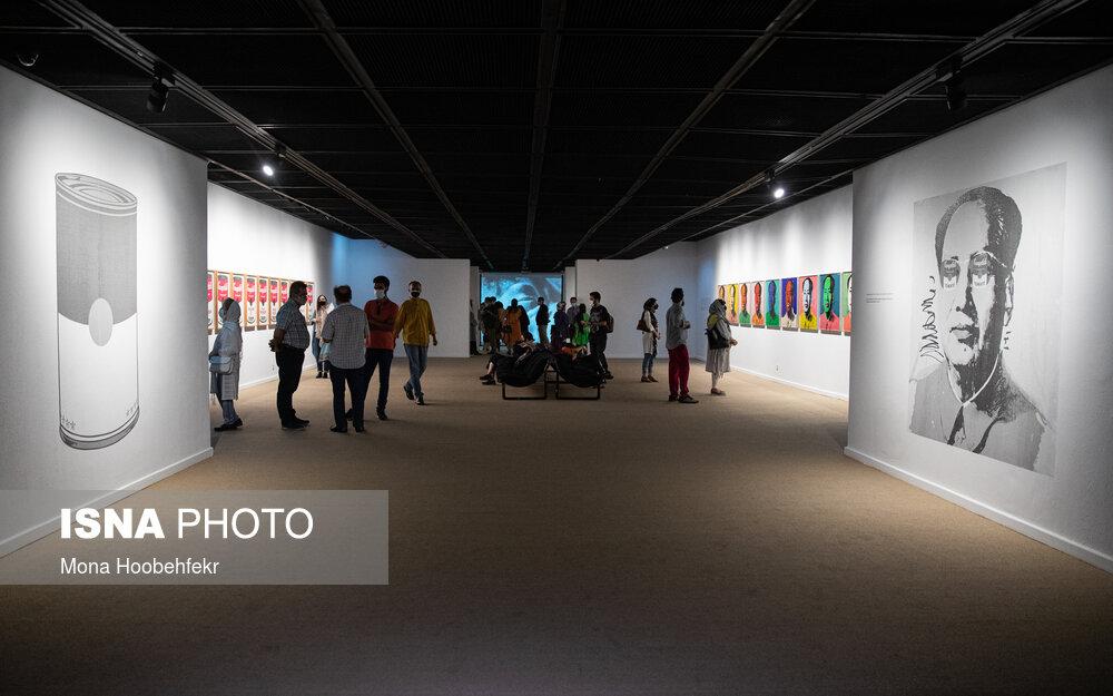 گزارش تصویری نمایشگاه آثار اندی وارهول در موزه هنرهای معاصر تهران