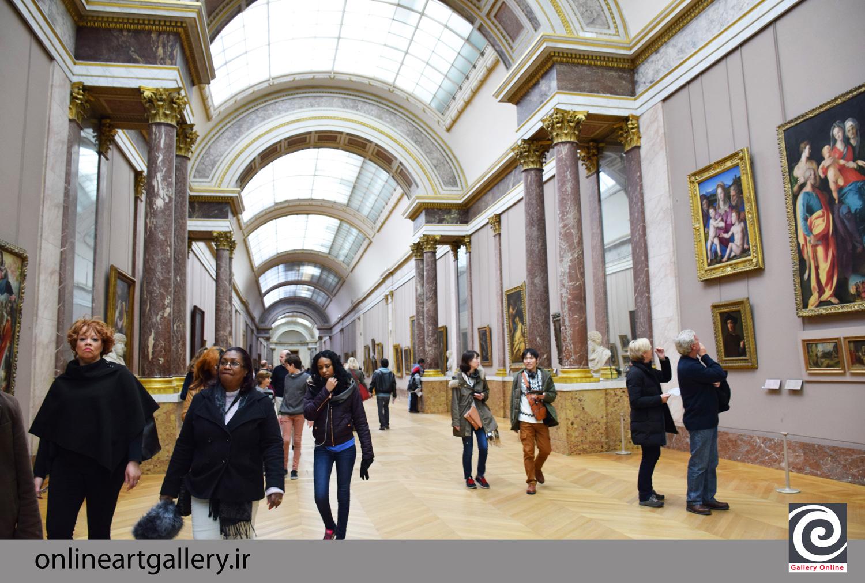 گزارش تصویری آثار موزه لوور پاریس (بخش پنجم)