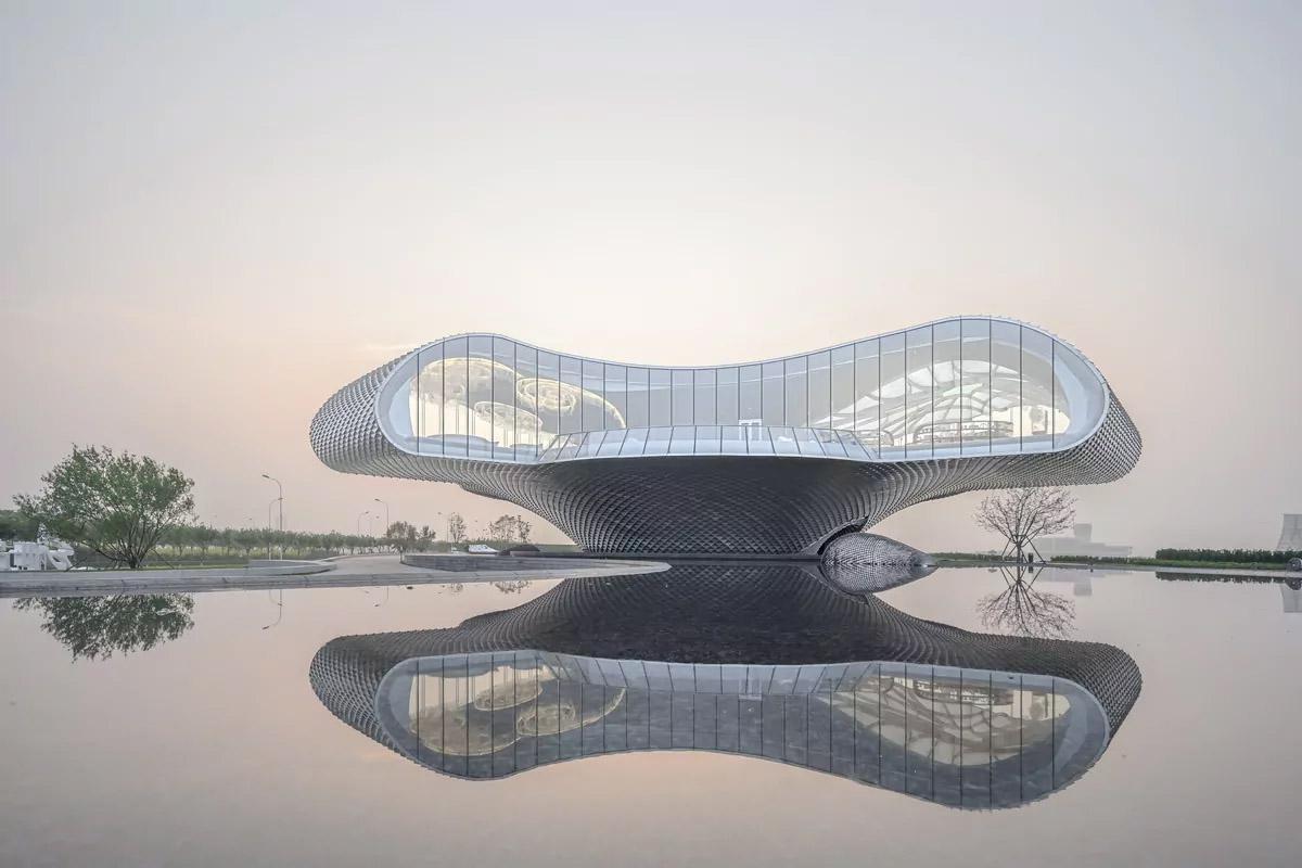 طراحی موزه هنر WAVE در چین توسط استودیو معماری LACIME ARCHITECTS