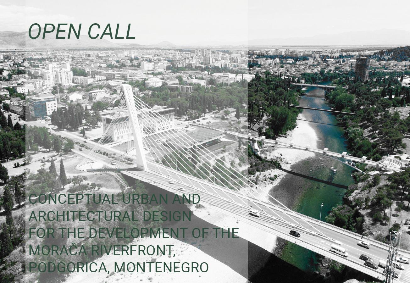 فراخوان رقابت طراحی مفهومی برای توسعه ساحل رودخانه Morača