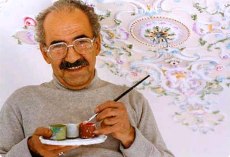 نگاهی به زندگی و آثار پیشرو نقاشی قهوه خانه ای