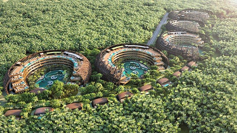 ساخت تفریحگاه بوم گردی در مکزیک
