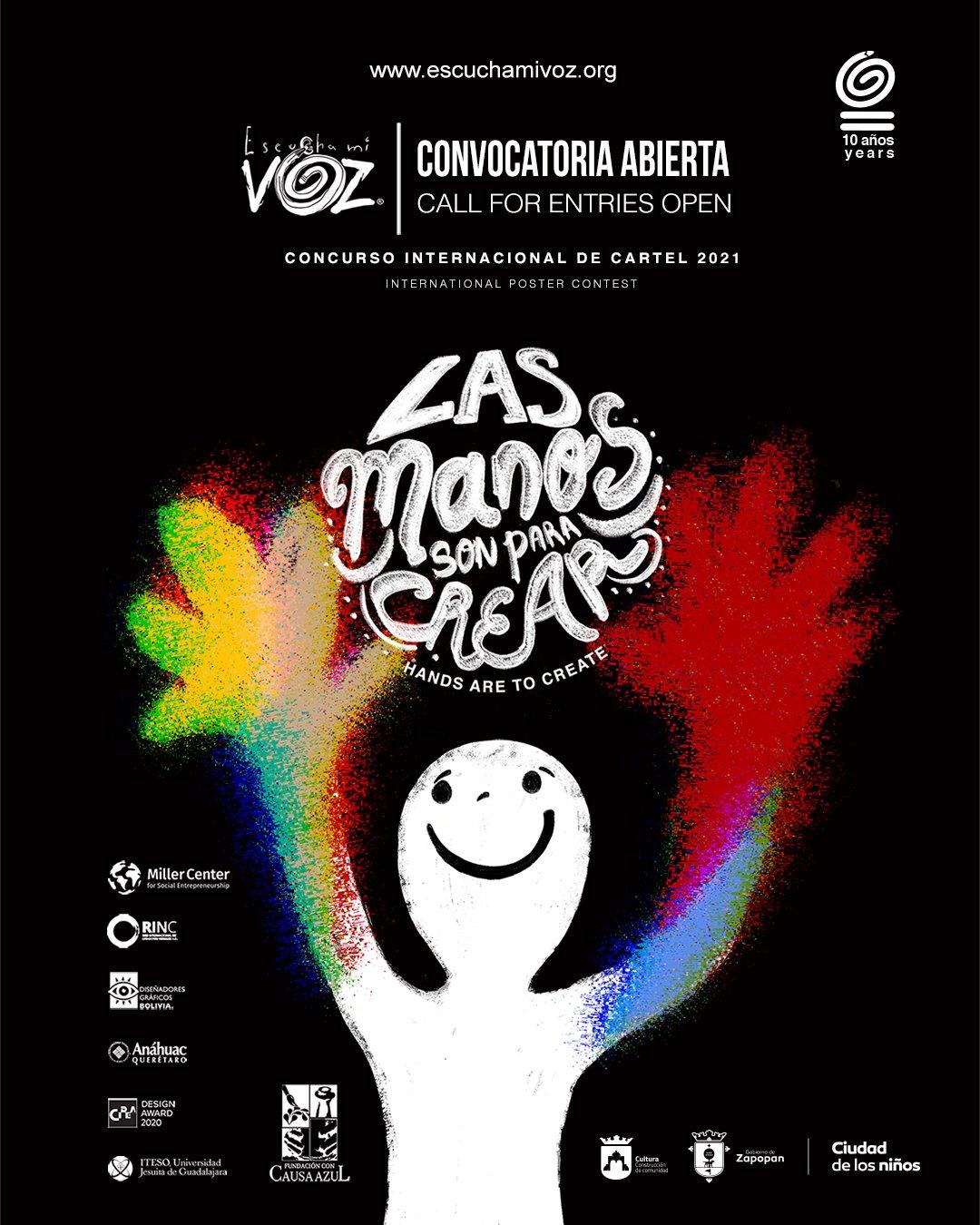 فراخوان رقابت پوستر Escucha Mi Voz 2021