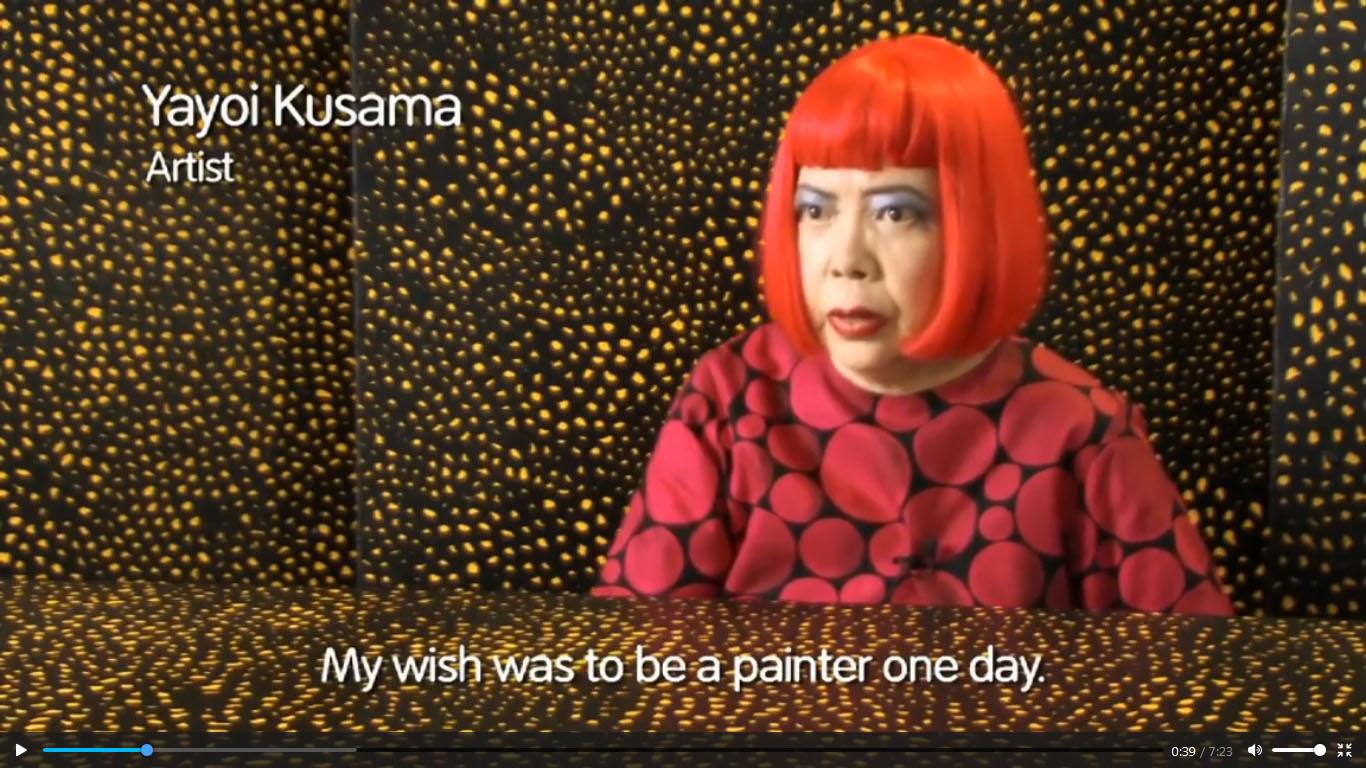 نگاهی بر آثار هنرمند ژاپنی یایویی کوساما