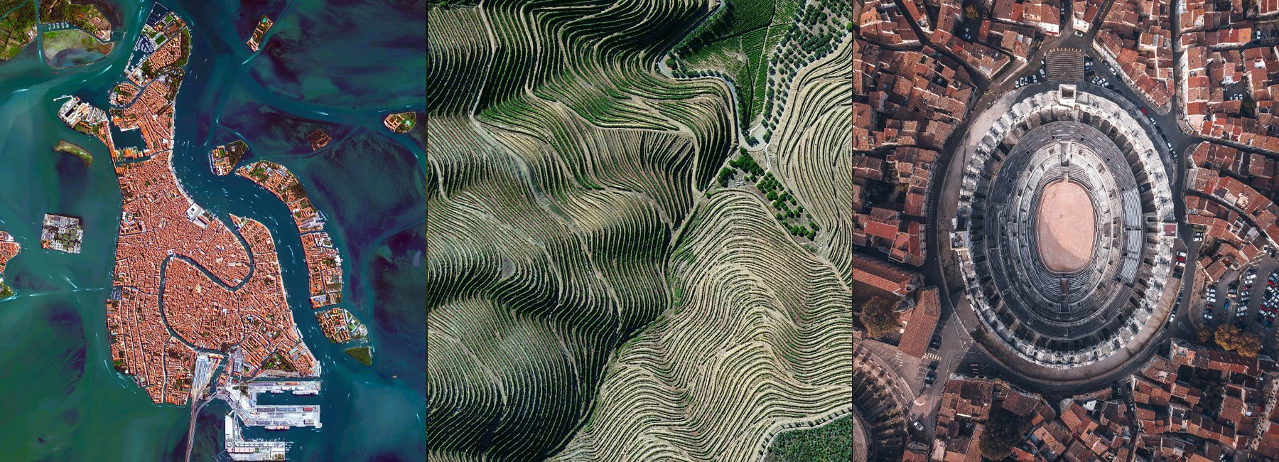 تصاویر هوایی شگفت انگیز از میراث جهانی یونسکو